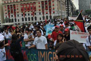 Início dos trabalhos com os imigrantes