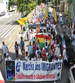 1ª Marcha dos Imigrantes